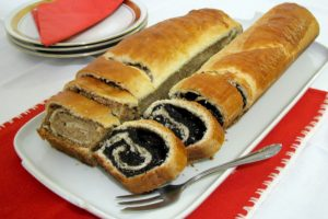 Bejgli - roll cake in Hungarian