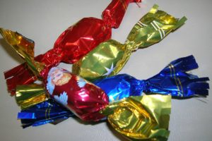 szaloncukor - Christmas candy in Hungarian
